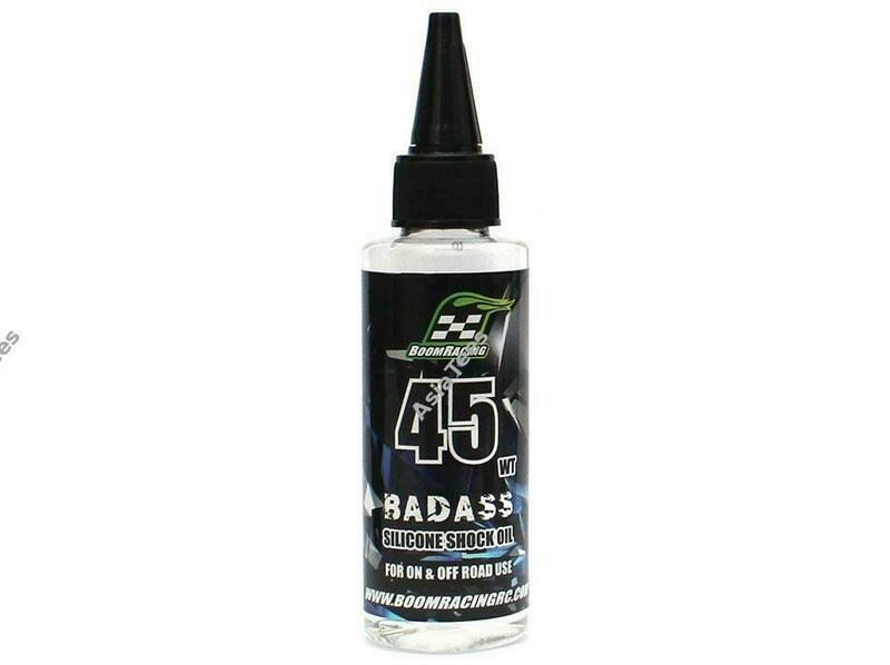 Boom Racing BADASS Silicone Shock Oil 45wt 60ml BRSHK045