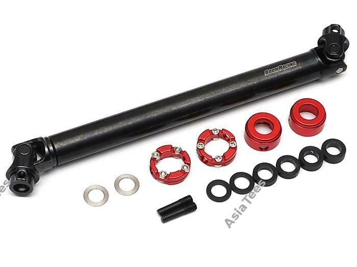 Boom Racing BADASS™ Heavy Duty Steel Center Drive Shaft 128-156mm (Pin to Pin) 1Pc BRBD955003A