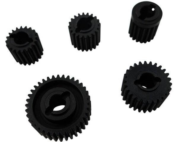 Hot Racing Hardened Steel Gear Set, for SCX10 II (Kit) HRASCXT1000T
