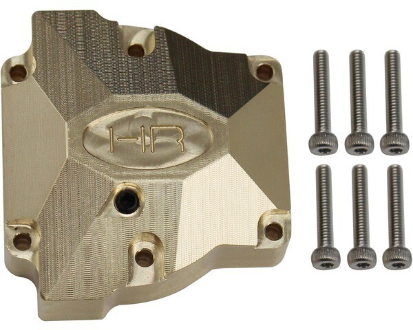 Hot Racing Heavy Brass Differential Cover, for Red Cat Gen 8 HRAEVE12CH