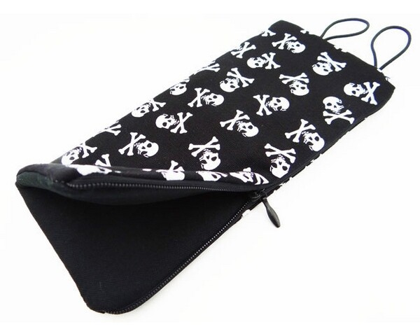 Hot Racing 1/10 Scale Accessory Sleeping Bag (Skulls) HRAACC58S08