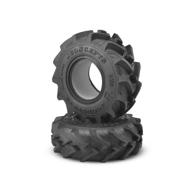 "Jconcepts Fling King Mega Truck Tire, 2.6"", Soft, Gold Compound JCO315505"