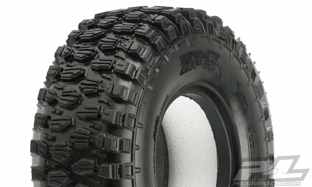 """Proline Class 1 Hyrax 1.9"""" (4.19"""" OD) G8 Rock Terrain Truck Tires (2) for Front or Rear PRO/10142-14"""