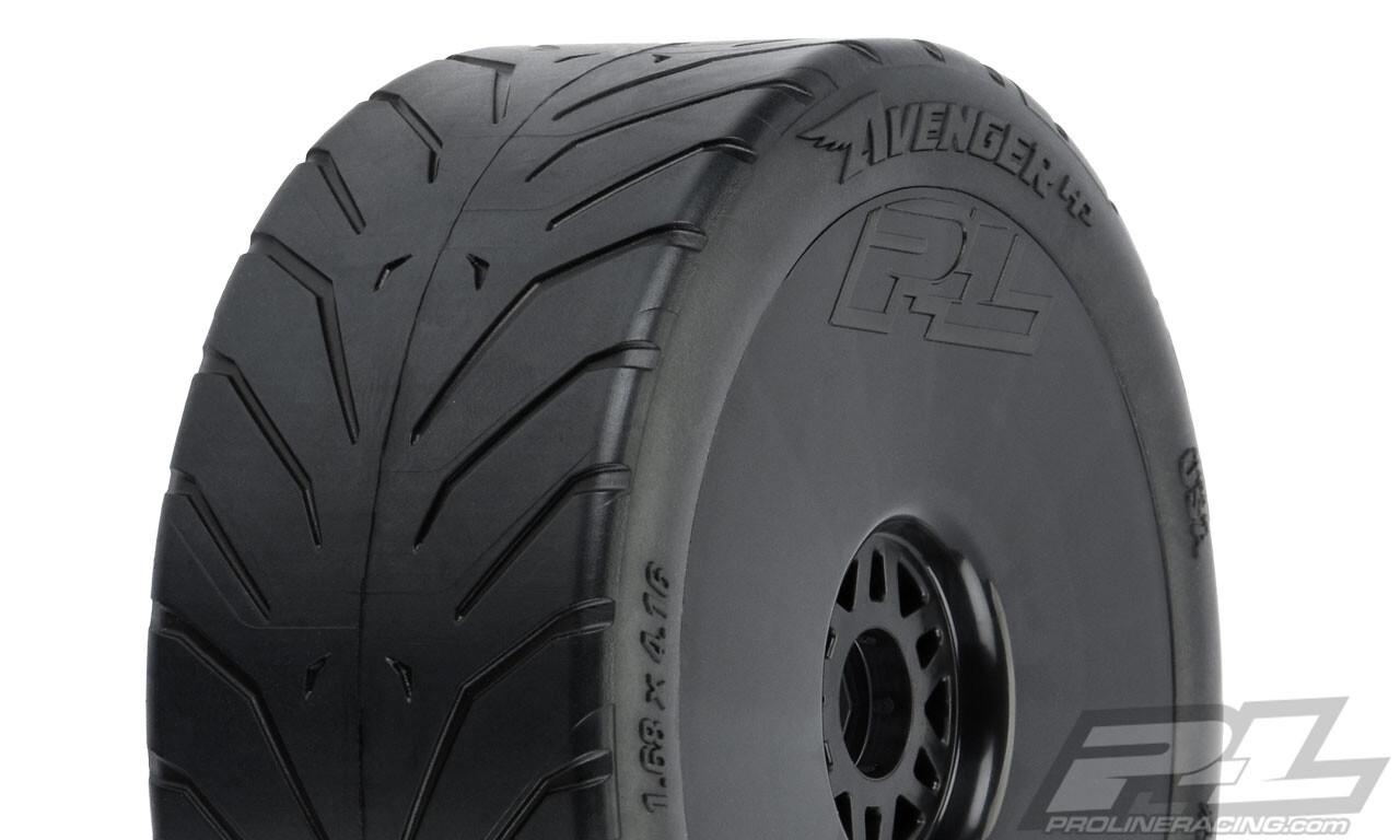 Proline Avenger HP S3 (Soft) Street BELTED 1:8 Buggy Tires, Mounted PRO/9069-21