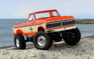 Carisma SCA-1E 1/10 '76 Ford F-150 4WD Scale Crawler RTR, (324mm Wheelbase) Orange CIS77868