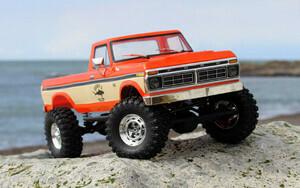 Carisma SCA-1E 1/10 '76 Ford F-150 4WD Scale Crawler RTR, (324mm Wheelbase) Orange CIS77868