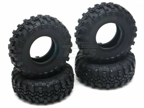 RGT Swamper Tire Set for ECX Barrage/ FTX Outback/ RGT Adventurer for 1/24 ADVENTURER 13616