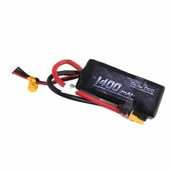 Gens ace 1400mAh 11.1V 50C 3S1P Lipo Battery Pack with XT60 Plug GEA14003S50X6