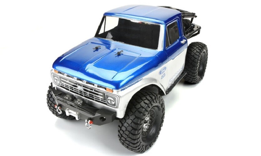 "Proline 1966 Ford F-100 Body for SCX10 Trail Honcho 12.3"" WB 3464-00"