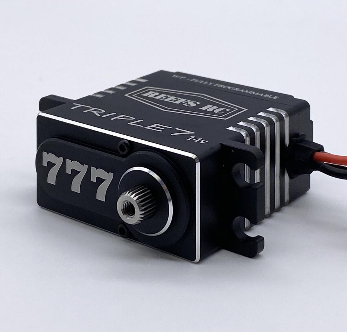Reefs R/C Triple7 14V High Torque High Speed Brushless Programmable Servo SEHREEFS777