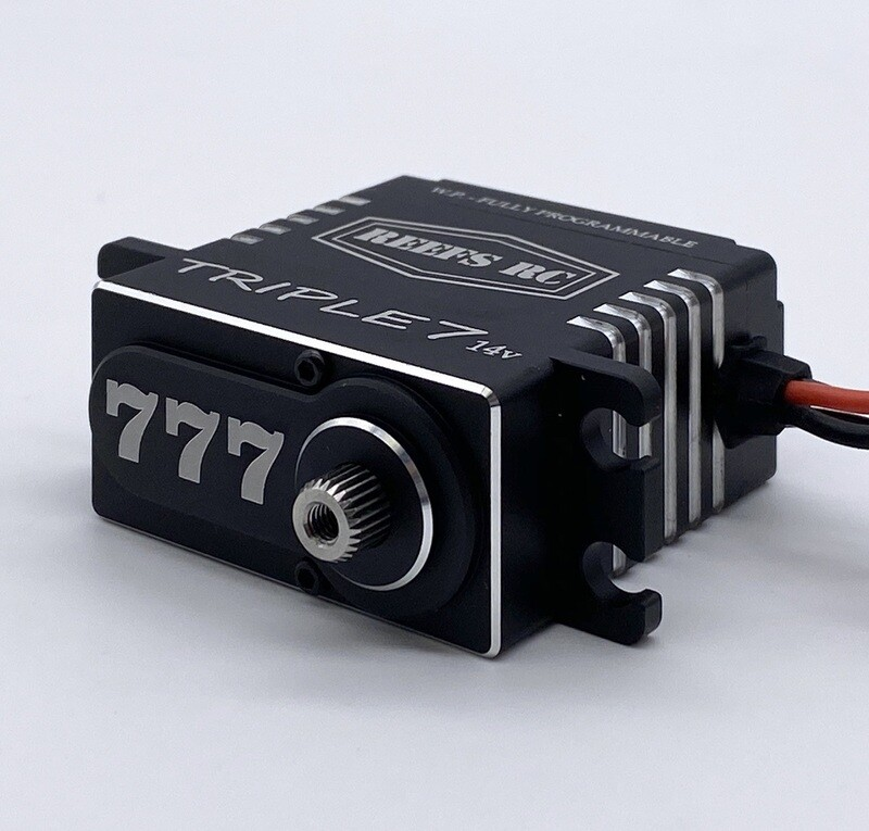 Reefs R/C Triple7 14V High Torque High Speed Brushless Programmable Servo SEHREEFS777