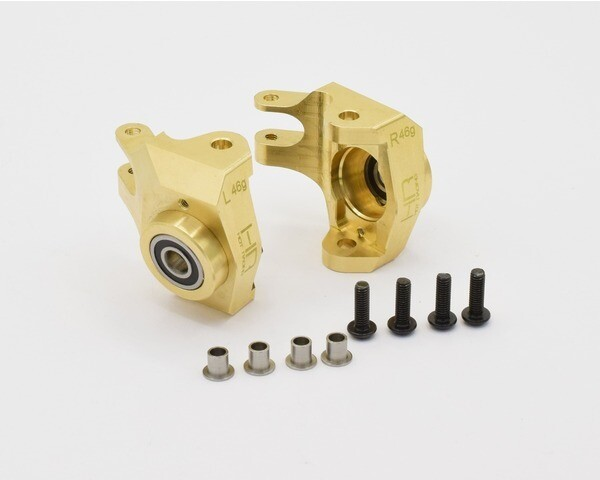 Hot Racing Brass Bearing Front Knuckle for Axial SCX10 II HRASCXT21HM