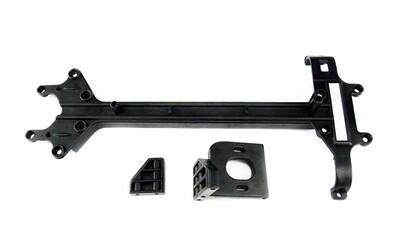 Carisma M40S Upper Deck, Chassis Brace Motor Mount Set CIS14106