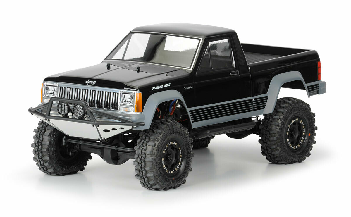 """Proline Racing Jeep Comanche Full Bed Clear Body for 12.3"""" (313mm) Wheelbase Crawlers 3362-00"""