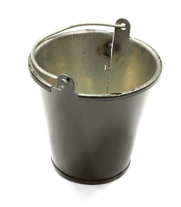Integy Realistic 1/10 Scale Large Size Metal Bucket for Off-Road Crawling C25562BLACK