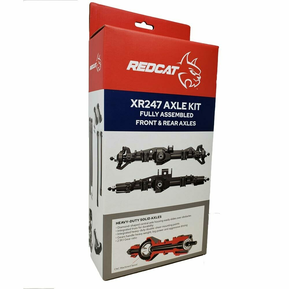 Redcat Racing XR247 Pre Assembled Axle Kit RER13033