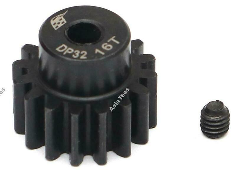 Boom Racing 32P 16T / 3.175mm Steel Pinion Gear - 1 Pc BRPG3216-3
