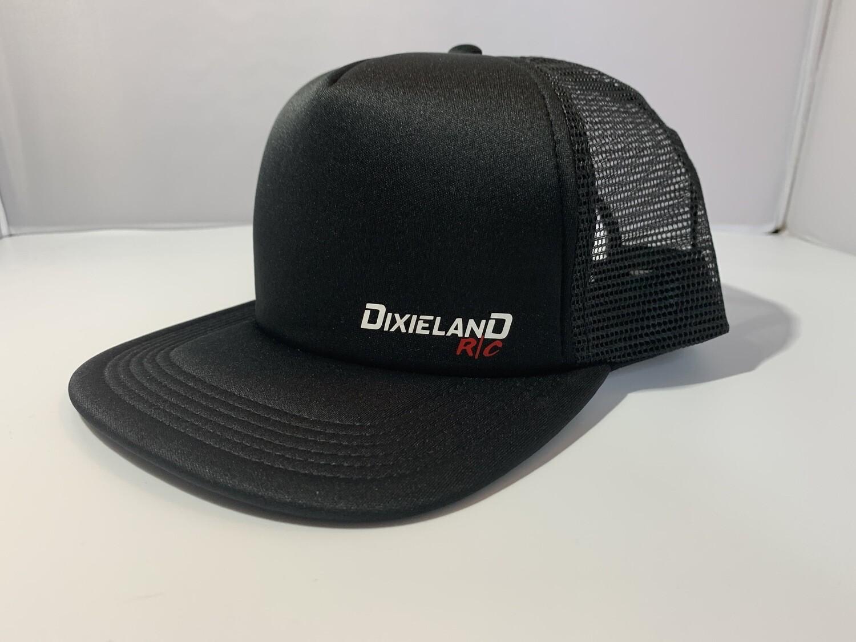 Black Mesh Snapback Hat