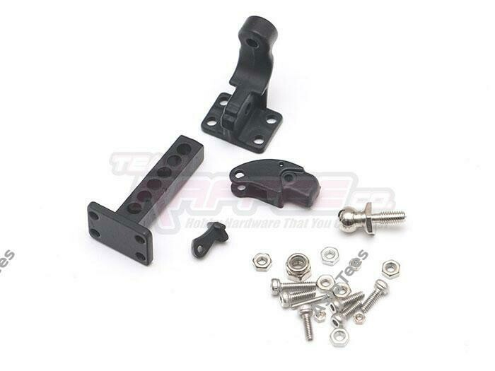 Team Raffee Co. 1/10 Scale Tow Hitch Male for TRX4 for Axial SCX10 II TRC/302594