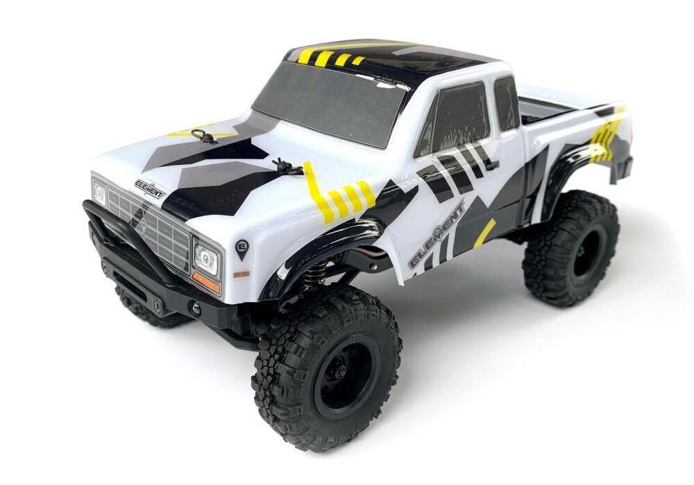 Element RC Enduro24 Sendero Trail Truck RTR, Black & Yellow ASC20180