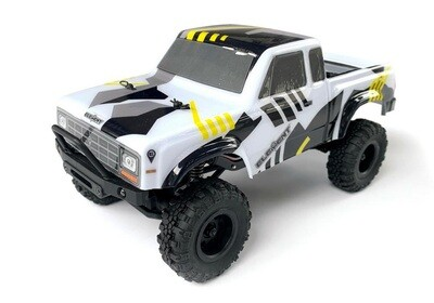 Element Enduro24 Sendero Trail Truck RTR, Black & Yellow ASC20180