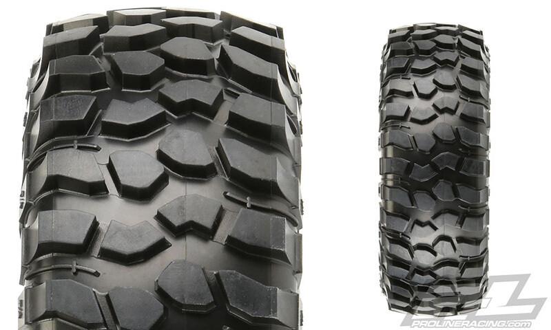 "ProLine BFGoodrich Krawler T/A KX 1.9"" Predator Truck Tires (2) 10136-03"