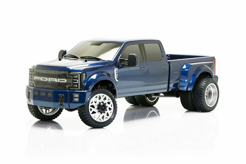 CEN Racing Ford F450 1/10 4WD Solid Axle RTR Truck - Blue (Preorder-Prepay)