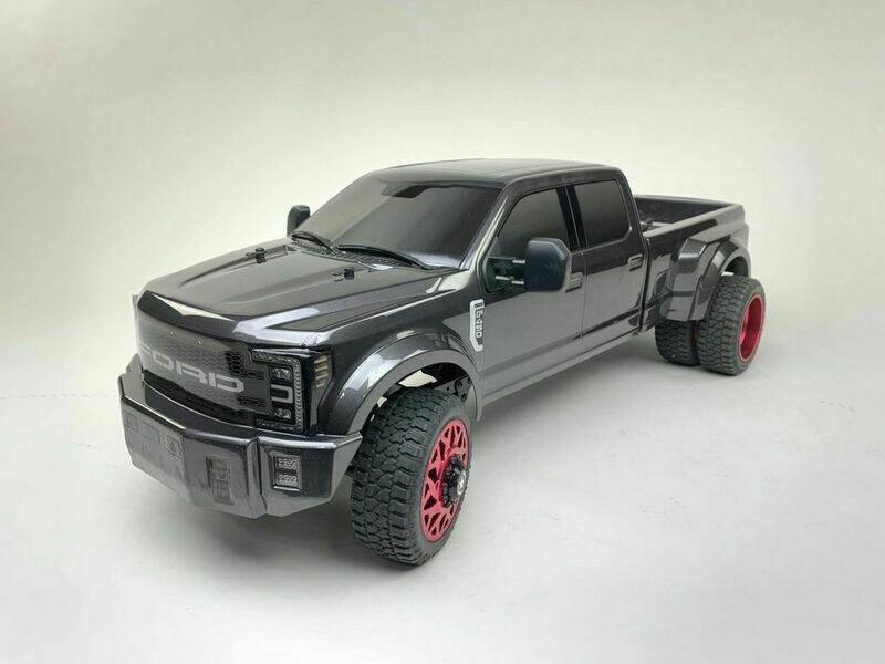 CEN Racing Ford F450 1/10 4WD Solid Axle RTR Truck - Grey (Preorder - Prepay)