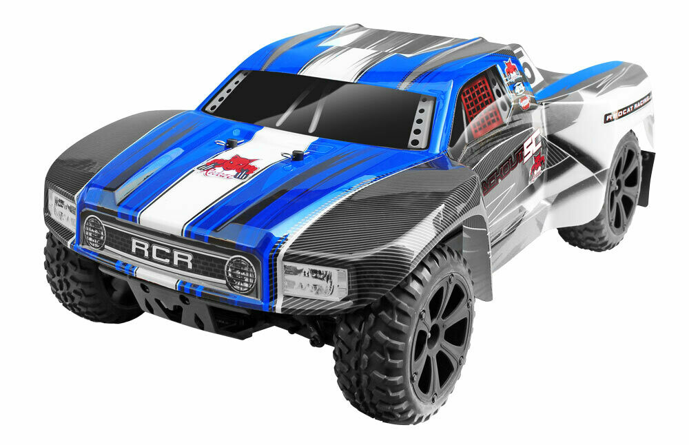 Redcat Blackout™ SC PRO 1/10 Scale Brushless Electric Short Course Truck (Blue)
