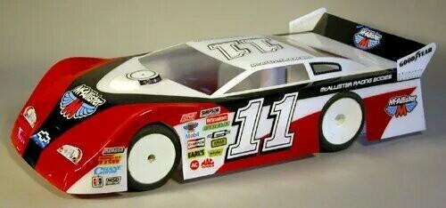 Mcallister Racing #237 Bakersfield Late Model 10