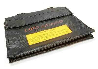 Integy LiPo Guard Large Battery Bag (240x180x60mm) for Charging and Storaging C26047BLACK