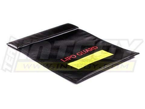 Integy LiPo Guard Large Battery Bag (295x230mm) for Charging and Storaging C22532BLACK