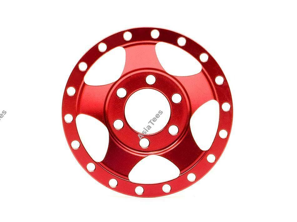 Boom Racing ProBuild™ Alum SV5 Faceplate (1) Red BRPBF002R