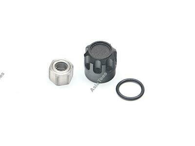 Boom Racing Alum Wheel Center Cap - VSX (1) Black (XT6 Hub Series) BRPB-VSXBK