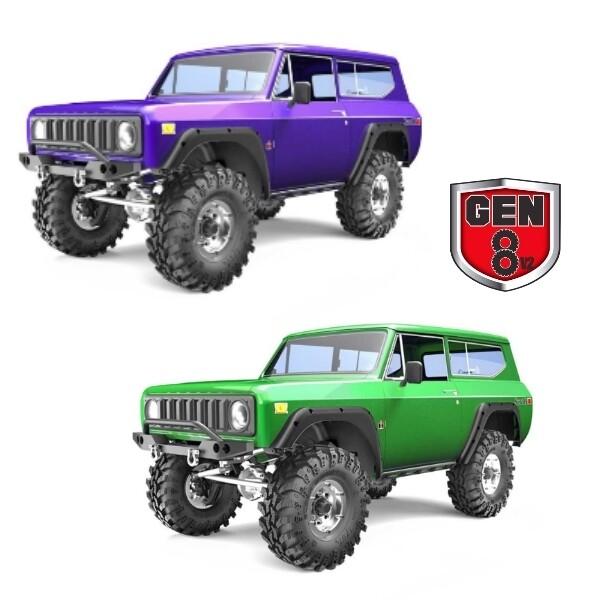 Redcat Racing Gen8 V2 Scout II 1/10 Scale Crawler (Purple) RER13034