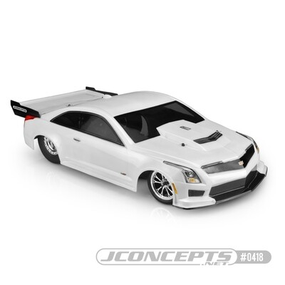 Jconcepts 2019 Cadillac ATS-V, Street Eliminator Clear Body