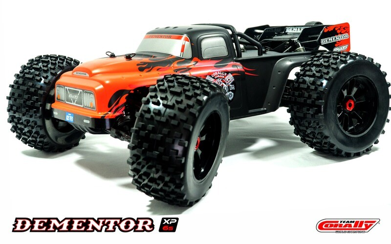 Corally 1/8 Dementor XP V2 4WD SWheelbase Monster Truck 6S Brushless RTR (No Battery or Charger)