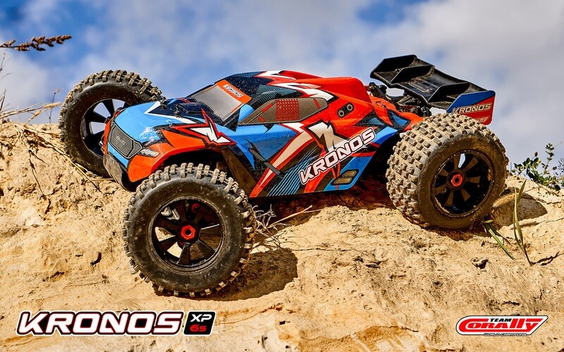 Corally 1/8 Kronos V2 XP 4WD Monster Truck 6S Brushless RTR (No Battery or Charger)