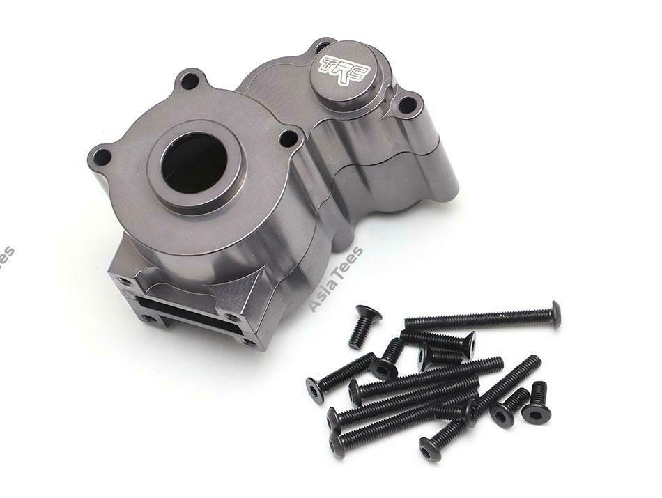 Team Raffee Co. Aluminum Gearbox Set Gun Metal for Element RC Enduro TRC/1059003GM