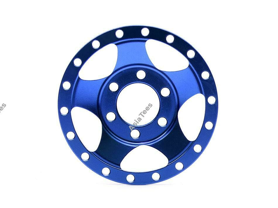 Boom Racing ProBuild™ Alum SV5 Faceplate (1) Blue BRPBF002B