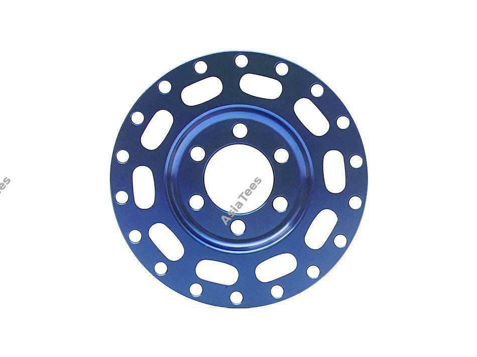 Boom Racing ProBuild™ Alum MAG10 Faceplate (1) Blue BRPBF001B