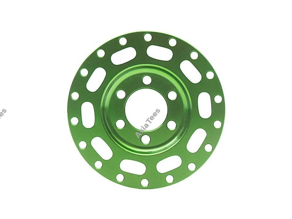 Boom Racing ProBuild™ Alum MAG10 Faceplate (1) Green BRPBF001G