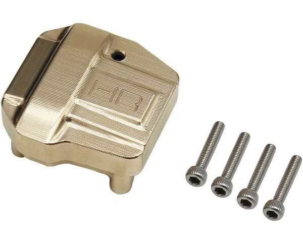 Hot Racing Heavy Brass Differential Cover, for Axial SCX III HRASXTT12CH