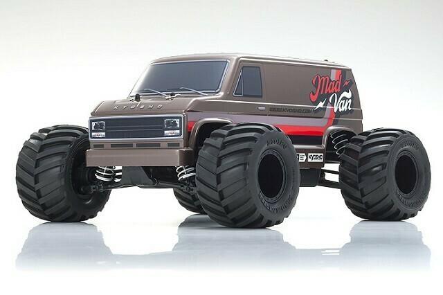 Kyosho Fazer Mk2 Mad Van 1/10 4WD Readyset RTR Monster Truck