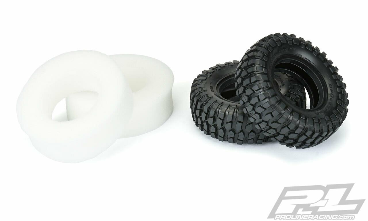 "Proline Class 0 BFGoodrich Krawler T/A KX (Blue Label) 1.9"" G8 (Soft) Rock Terrain Tires PRO/10171-14"