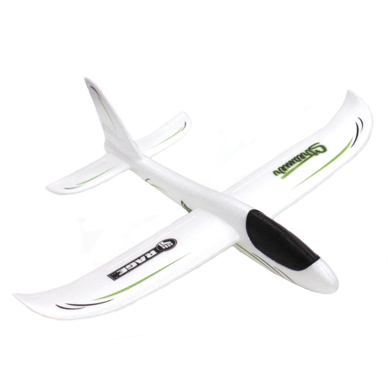 Rage R/C Streamer Hand Launch Glider, White RGR9006