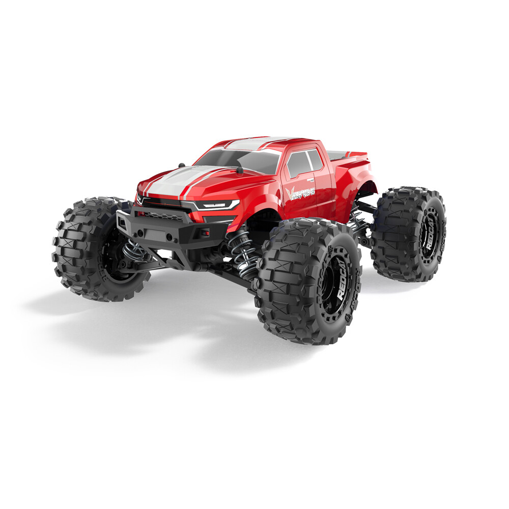 Redcat Volcano-16 1/16 Scale Brushed Electric Monster Truck (Red) RER13648