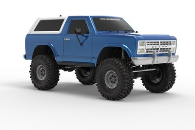 Cross R/C AT4 1/10 EMO 4x4 RTR Crawler - Blue