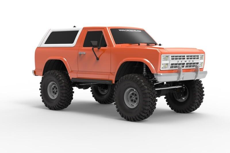 Cross R/C AT4 1/10 EMO 4x4 RTR Crawler - Orange