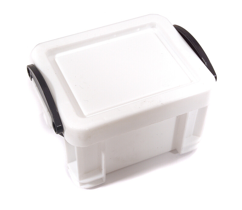 Integy Realistic Model Size 85x64x50mm Storage Box C29397WHITE